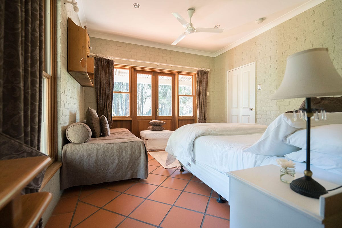 Thistle Hill Guest House has cosy rooms - warm in winter and cool in summer